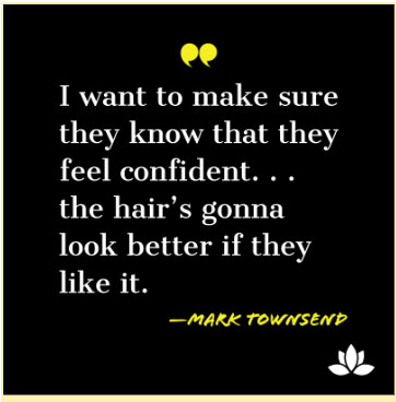 Mark Townsend quote