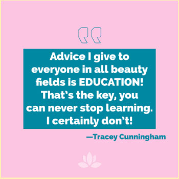 Tracey Cunningham quote